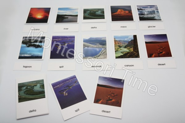 Topography cards