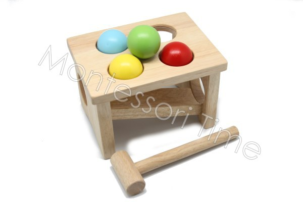 Wooden Punch Ball